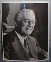 vintage Press photo President Franklin D. Roosevelt USA photograph