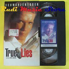 film VHS cartonata TRUE LIES 1994 arnold schwarzenegger L'UNITA' (F47) no dvd