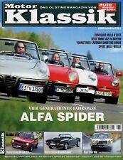 Motor Klassik 6/04 2004 Triumph Spitfire Golf GTI Alfa Spider AM Lagonda Shootin