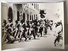 ww2 photo press  L'ile Elbe Italie 1944 prisonniers allemandes   B534