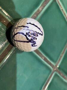 Sergio Garcia Signed  Golf Ball Autographed  JSA COA