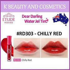 [Etude House] Dear Darling Water Gel Tint (#RD303 CHILLY RED) *NEW 2017* 4.5g