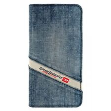 Genuine Official Diesel Cosmo 5 iPhone 5 / 5s / SE Booklet Case – Indigo