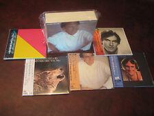 JAMES TAYLOR RARE 5 Replica  IN A RARE JAPAN OBI CD'S BOX SET ONE TIME SPECIAL