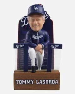 Tommy Lasorda Los Angeles Dodgers Career Stats RARE MLB Bobblehead