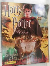ALBUM FIGURINE HARRY POTTER E IL CALICE DI FUOCO Sticker album Panini Collezione