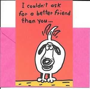 Happy Dog Wagging Tail  - Normal Friends Friendship By American Greetings