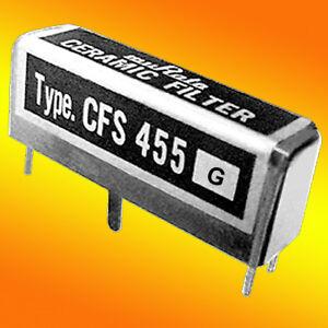 455 KHz Murata 15-Element Communications FILTER +/- 4 KHz BW - HAM / Shortwave