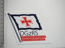 Aufkleber Sticker DGzRS Flagge (7728)