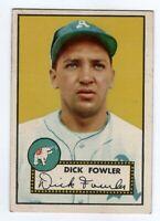 1952 Topps Baseball #210 Dick Fowler - EX/MT  **NICE**