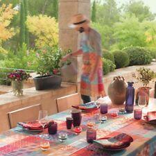 Garnier Thiebaut Tischdecke Mille Tiles Multicolore  180 x 180 Baumwolle