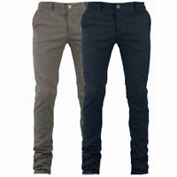 Pantalone Uomo Mod. Tasca America Chino Slim Cotone Elastico Colori Vari GIOSAL
