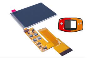 GameBoy Advance IPS V2 Backlight Display LCD Hintergrundbeleuchtung GBA Kit NEU
