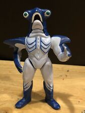 "1994 Slippery Shark 5.25"" Bandai Action Figure Power Rangers Evil Space Alien"