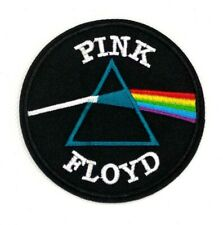 Pink Floyd Dark Side of the Moon Iron On Embroidered Patch Prism patches 384+