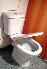 WC Toilette,Ceramik Stand Toilette Set,Tiefspüler Toilette,Keramik Toilette