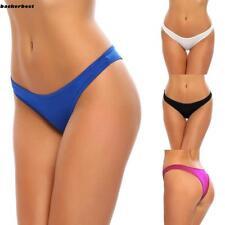 Hot Women Lady Brazilian Bikini Swimwear Beach Suit G-String Thong Bottom New
