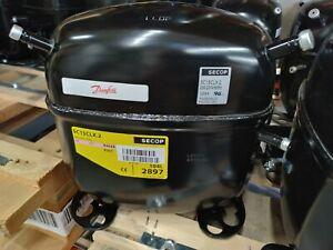 230V compressor Danfoss SC15CLX.2 104L2897 60Hz made by Secop R-404A/R-507