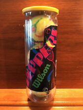 Vtg Deadstock Wilson Tennis Balls Peppers 3 Pack 1990's Retro New