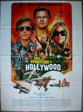 ONCE UPON A TIME IN HOLLYWOOD Affiche Cinéma 160x120 TARANTINO Premier TIRAGE !