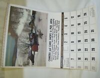 1974 Calendar Camera and Card Shops in Pittsburgh Area - Recipes on back