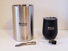 Hilton Garden Inn Wine/Champagne Cooler with Thermal Mug Advertising Hotel