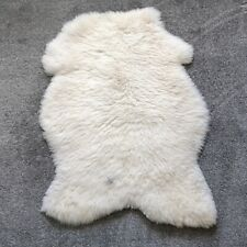 Sheepskin Rug Unique Ivory / Light Cream 110 CM NEW!
