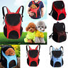 Breathable Pet Dog Carrier Double Shoulder Bag Puppy Cat Travel Outdoor Backpack