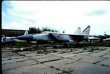 Original colour slide MiG-25P Foxbat '306' blue of Russian Air Force