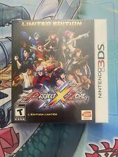 Project X Zone Limited Edition Nintendo 3DS 2DS XL Capcom Sega Bandai Namco