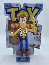 Disney Pixar Toy Story 4 Woody Doll Figure Authentic Details Posable! NEW!!!