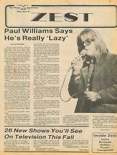 Paul Williams Mick AND Bianca Jagger Albert Finney Taryn Power Jul 31 1977 C1