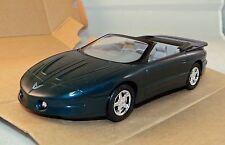 8937 AMT Ertl Dealer Promo Car 1995 Pontiac Firebird Convertible Teal 1/25 scale