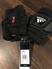 New Adidas Freak Flex Lacrosse Elbow Pads Size Adult Medium Black