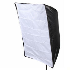"60x90cm/24""x35"" Softbox Umbrella Rectangle For Flash Studio Light Speedlite New"