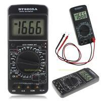 Digital DT9205A Multimeter LCD AC/DC Ammeter Resistance Capacitance Tester Meter