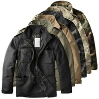 Trooper Raw Vintage M65 Herren Winter Jacke Fieldjacket Feldjacke 2in1 Parka
