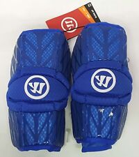 New Warrior Burn 2 Royal Blue Medium Lacrosse Protective Arm Guards / Pads