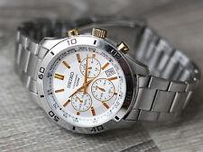 Seiko 6T63-00E0 Men's Chronograph Sports Quartz Watch 100 Meters