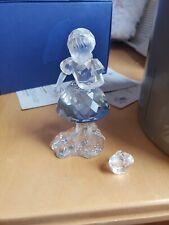 Swarovski Crystal Figurines Red Riding Hood Girl W/basket 7550 ( Mint Condition)