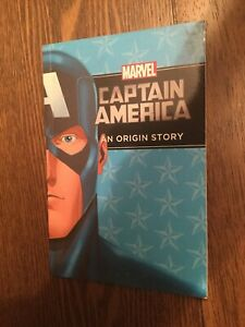 MARVEL CAPTAIN AMERICA: AN ORIGIN STORY (Older Youth, Chapter Book)