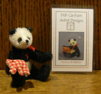 "DEB CANHAM Artist Designs OLD LOUIS, Old Friends Coll. 3.75"" LE Jointed Mohair"