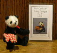 """DEB CANHAM Artist Designs OLD LOUIS, Old Friends Coll. 3.75"""" LE Jointed Mohair"""