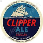 """CLIPPER ALE 11.75"""" ROUND METAL SIGN"""