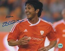 Brian Ching Houston Dynamo Signed Autographed 8x10 Phot Fsg Authentic 5