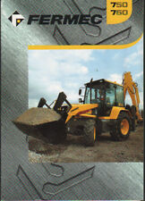 FERMEC 750 and 760 Backhoe Loader Brochure Leaflet