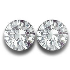 5.5 MM| Natural White Sapphire Pair From SriLanka | Loose Gemstone-NEW