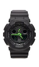 CASIO G-SHOCK Green Hands GA-100C-1A3ER Mens Combi Watch gshock GA100C1A3ER