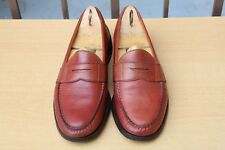 MOCASSIN ALDEN POUR BROOKS BROTHERS CUIR NOIR 8,5 / 42 EXCELLENT ETAT SHOES