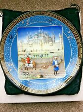 D'arceau-Limoges Limited Edition October Wall Plate by Jean Dutheil